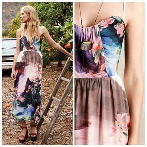 corey lynn calter watercolor daybreak midi dress